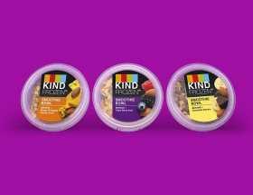 KIND frozen smoothie bowl