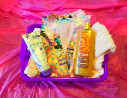 cozy gift basket