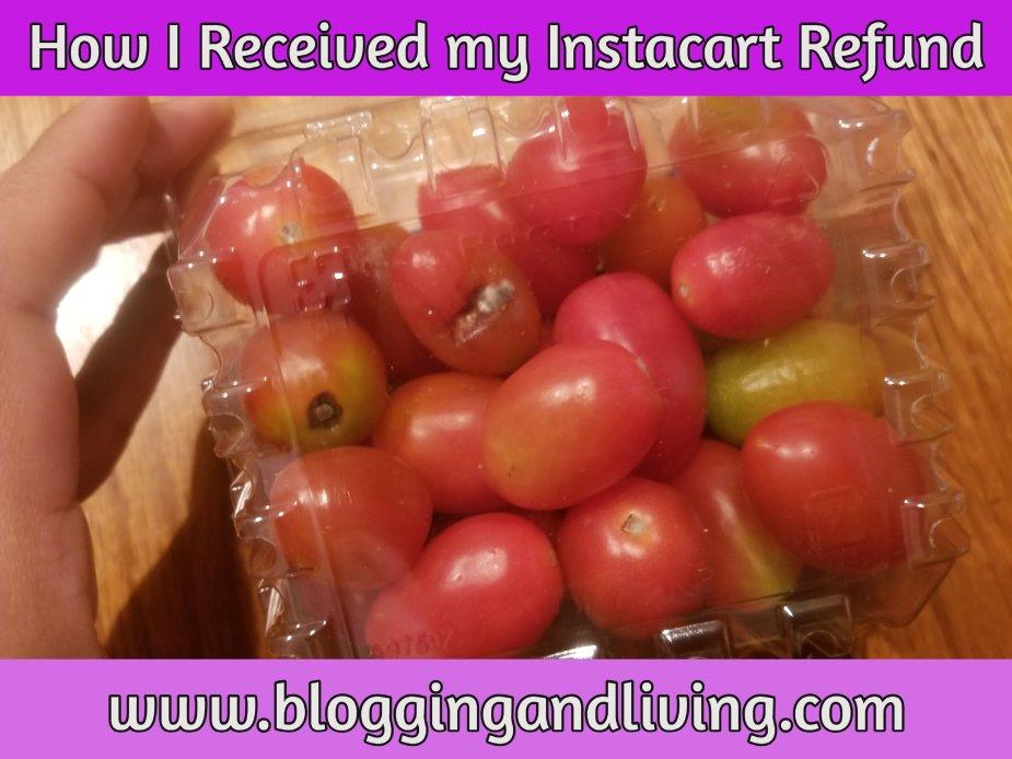 Instacart refund
