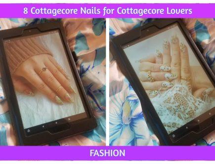 cottagecore nails