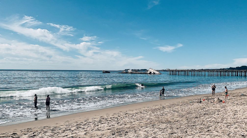 Seacliff Beach, USS Palo Alto, Shipwreck