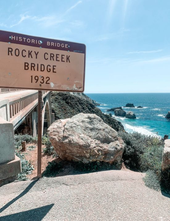 Rocky Creek Bridge, CA Highway 1