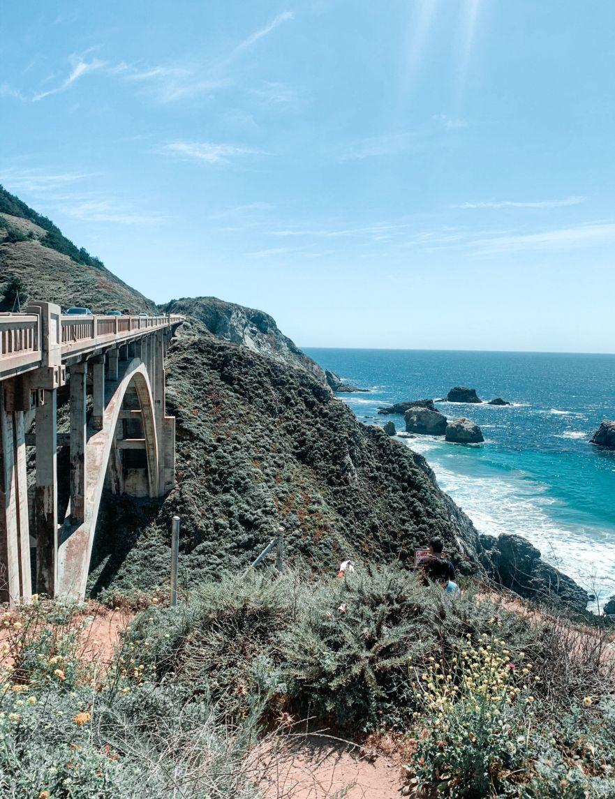 Rocky Creek Bridge, CA Highway 1