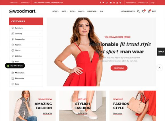 WoodMart - Premium WooCommerce WordPress Theme