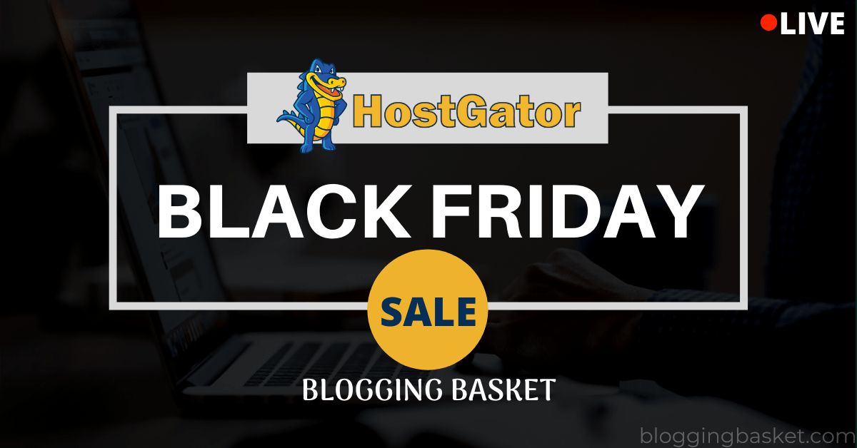 Hostgator Black Friday Deals