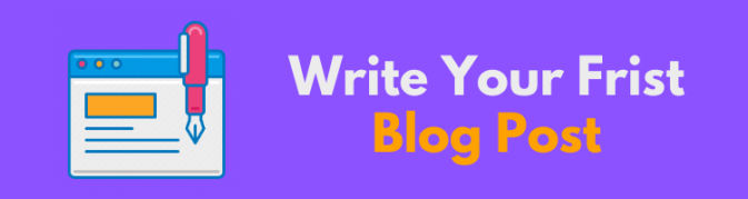 Write-a-first-blog-post