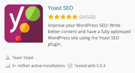 A plugin card for WordPress.