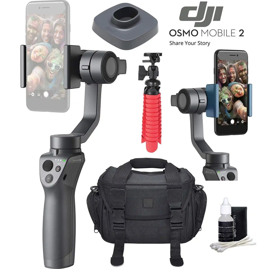 Smartphone Stablilizer for great blogging images and video.