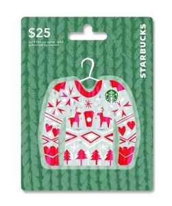 Gift Ideas for Bloggers: Starbucks Gift Cards