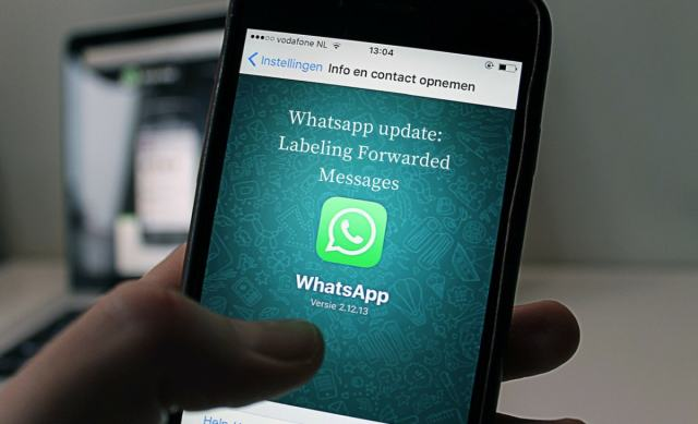 New Labeling Forwarded Messages Feature Added In The Whatsapp Update 2018