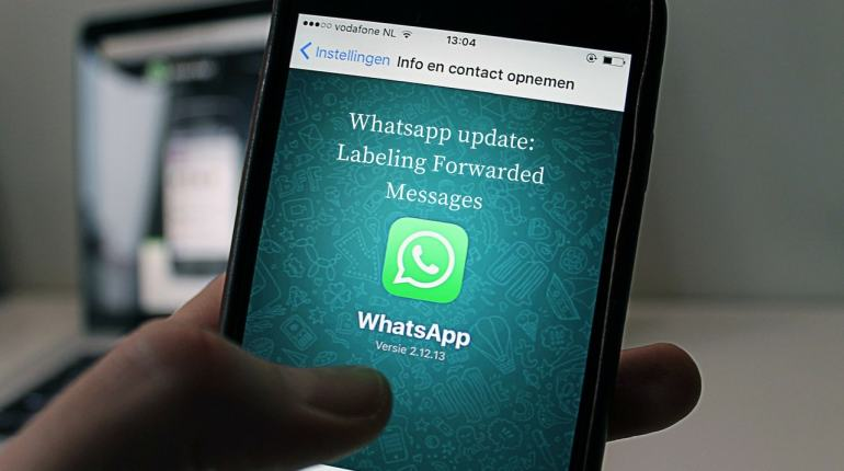 Whatsapp update_ Labeling Forwarded Messages