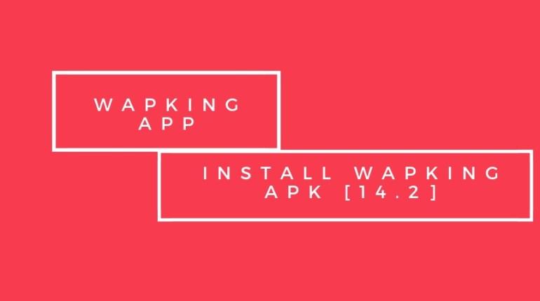 Install Wapking apk