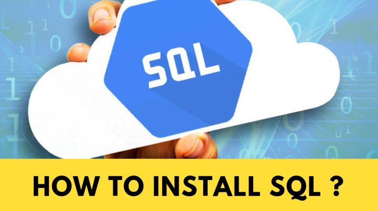 How to install SQL