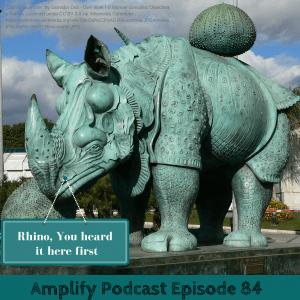 Amplify Podcast Rhino