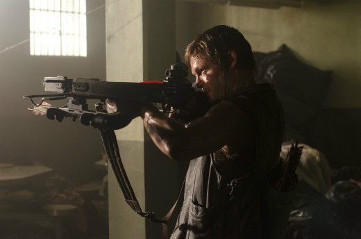 Norman Reedus as Daryl in Walking Dead Season 3 Episode 2