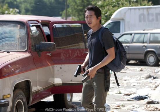 Steve Yeun as Glenn in Walking Dead Season 3 Episode 6