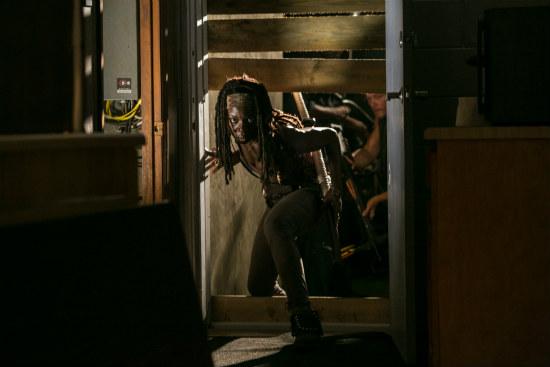 Michonne (Danai Gurira) on The Walking Dead