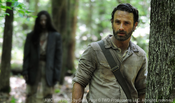 Andrew Lincoln as Rick Grimes in The Walking Dead Season 4