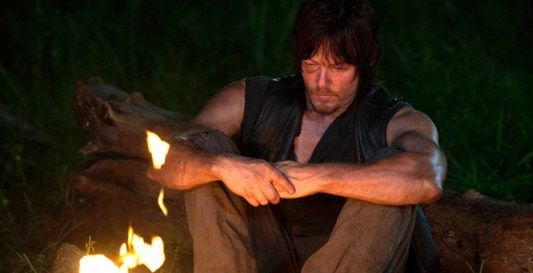 Norman Reedus as Daryl Dixon in The Walking Dead Season 4 Episode 10