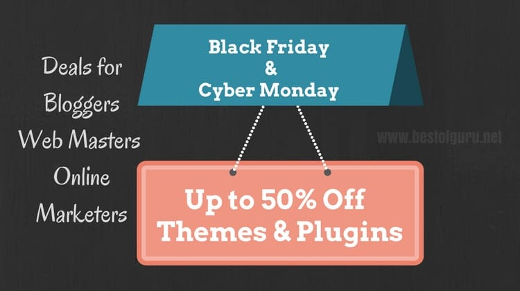 Best Black Friday and Cyber Monday WordPress deals