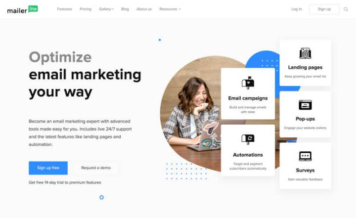 Mailerlite – Free email marketing tool for bloggers