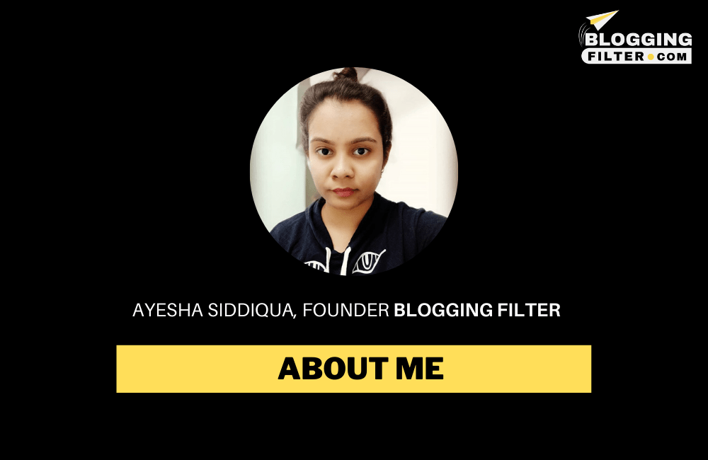 About Ayesha Siddiqua via @bloggingfilter