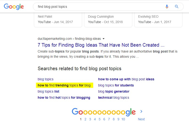 How to Find Trending Topics for Blog