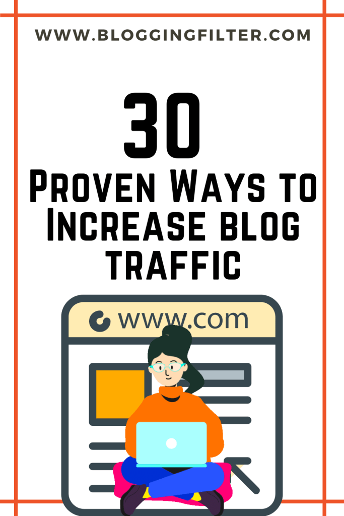 30 Proven Ways to Increase blog traffic