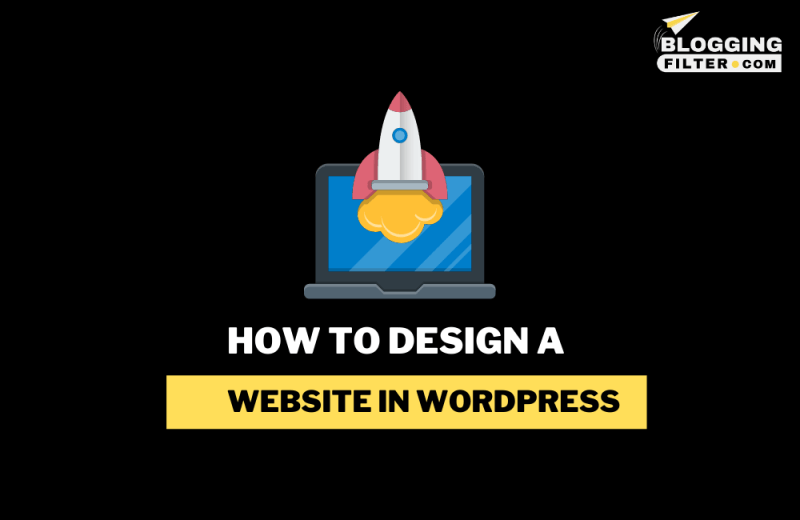 How to design a website in WordPress