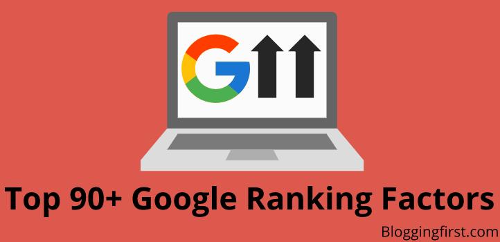 Top 90+ Google Ranking Factors, Jane Kis Factor Ko Miss Kar Rahe Hai