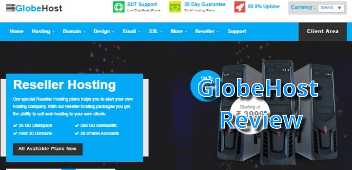 Globehost Review : Best Cheap Hosting Company in India