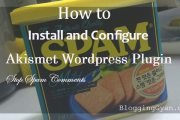 Akismet Wordpress Plugin Configure kaise Kare