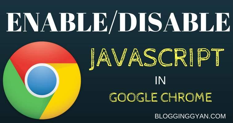 JavaScript Disable Enable Kaise Kare