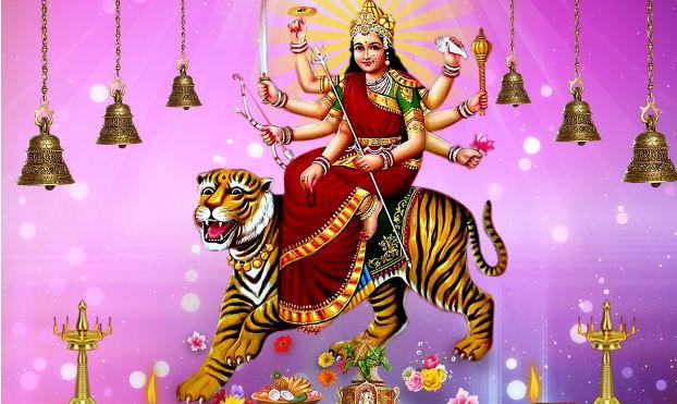 Beautiful-Maa-Durga-Navratri-Wallpaper-Free-Download