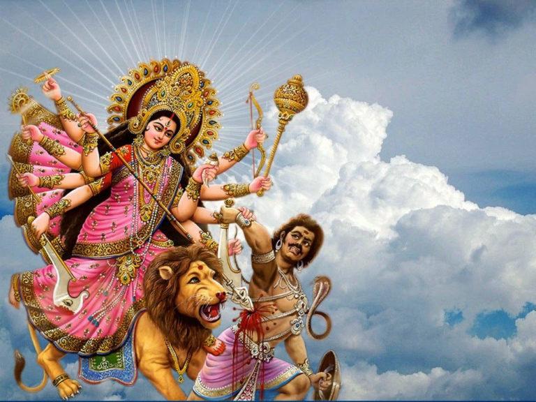 Happy-Navratri-Maa-Durga-Images-and-HD-Wallpapers-768x576