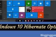 Windows 10 Hibernate Option Enable