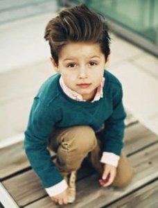 Cute boy profile pic