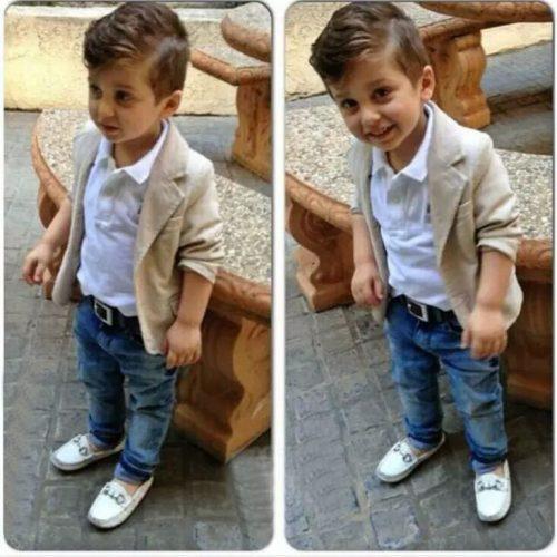 stylish cute baby pic