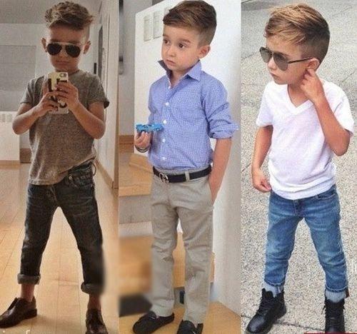 stylish kid profile pic