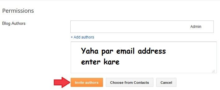 Blogger Blog Ko Another Email Address Par Transfer Change Kaise Kare