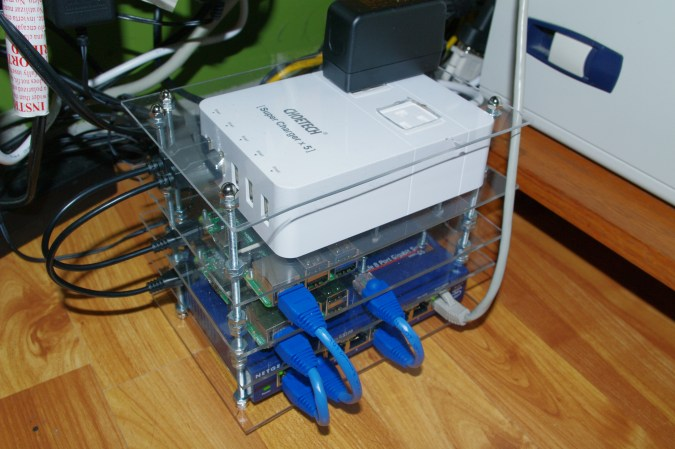 Raspberry Pi Rack