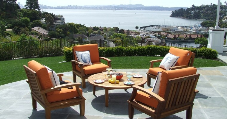 Soak Up The Sun In A New Garden Seating Area
