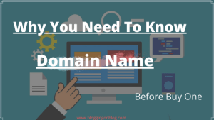 Why You Need To Know About Domain Name Before Buy One