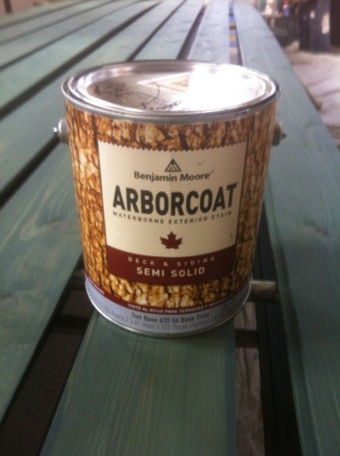 Benjamin Moore Arborcoat Semi Solid Stain The Blogging
