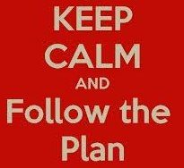 follow the plan