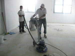 diamond grinding for epoxy