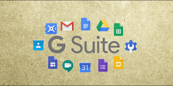 G Suite Organization Tools