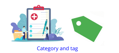Website SEO Categories and tags