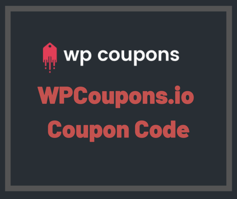 WP Coupons Coupon Code