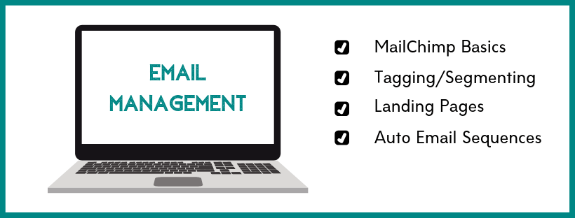 Learn the basics of email management for your blog.